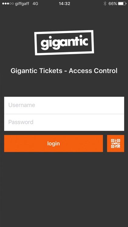 GigScan Access Control