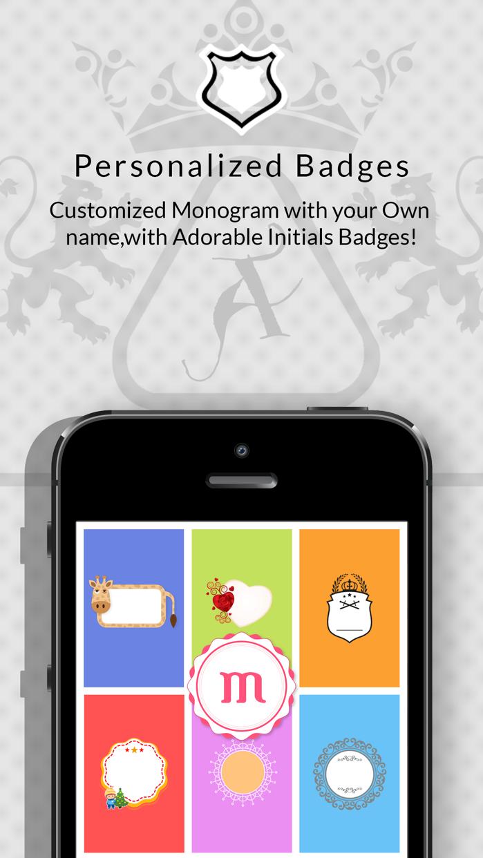 Monogram Wallpaper Maker Lite! Screenshot