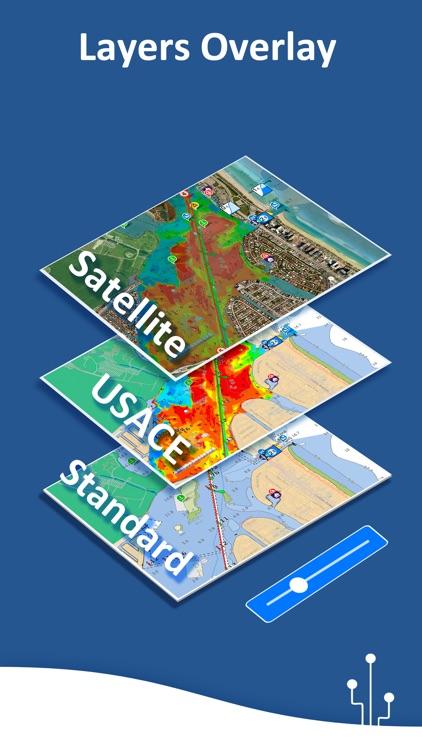 Aqua Map: Marine & Lake charts screenshot-8