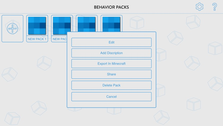 Pro Behavior Pack Creator