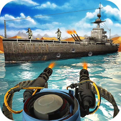 Gunship Shooter: Sea War Moder iOS App