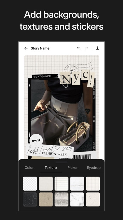 Unfold: Story & Collage Maker screenshot-6