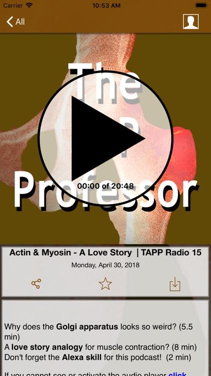 The A&P Professor | TAPPradio