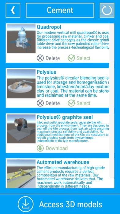 thyssenkrupp 3-D modelsScreenshot von 3
