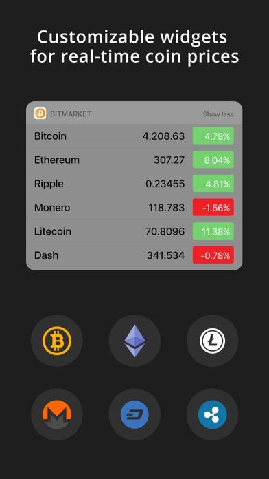 BitMarket - Bitcoin Prices screenshot four