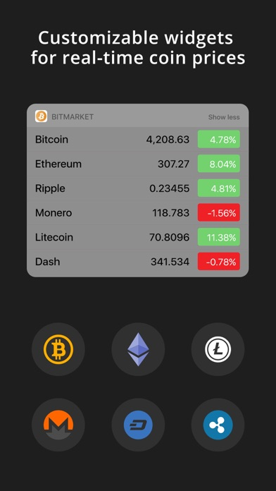 BitMarket - Bitcoin Prices screenshot four
