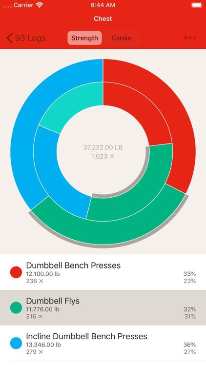 GymBook - Strength training screenshot-6