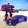 سيارة الشرطة الروبوت بطل