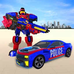 Police Robot Car Hero