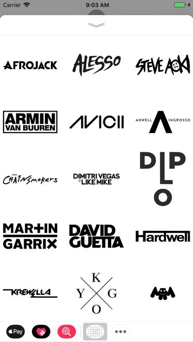 Dj Stickers for Tomorrowland screenshot 2