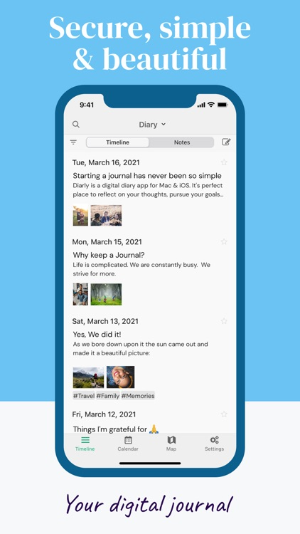 Diarly: Diary, Journal & Notes