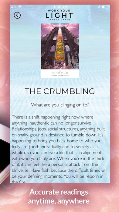 Work Your Light Oracle Cards screenshot 5