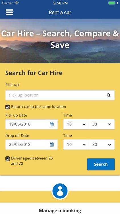 Rent a Car Worldwide