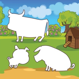 Farm Game: Kid Puzzles Game