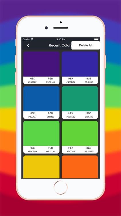 Live Color Picker & Extractor screenshot-4