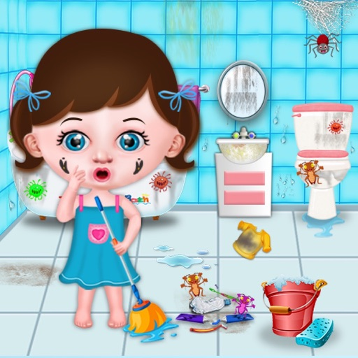 Baby Girl Home Cleaning