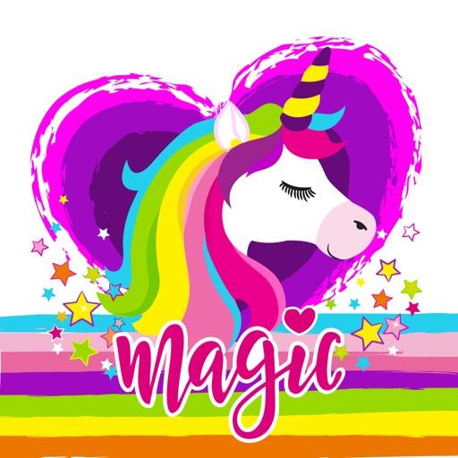 Rainbow Horse Emojis