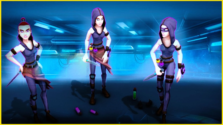 Rogue Female Fighter 3D