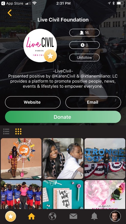 ALIST - Give To Charity screenshot-3