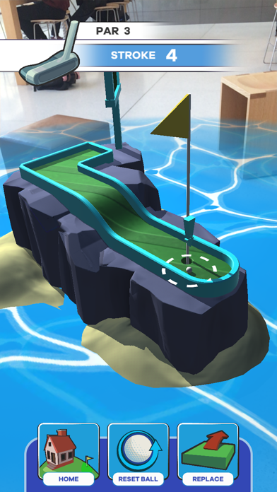 Putt Putt World - AR Mini Golf screenshot 2