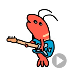 Funny Shrimp Animated Stickers