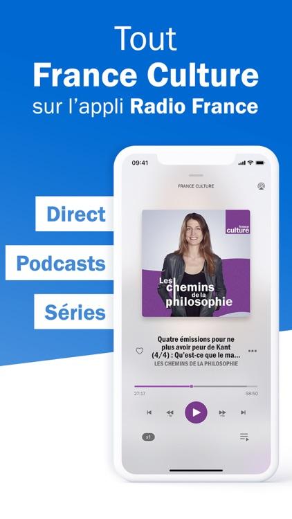 Radio France - podcast, direct screenshot-7