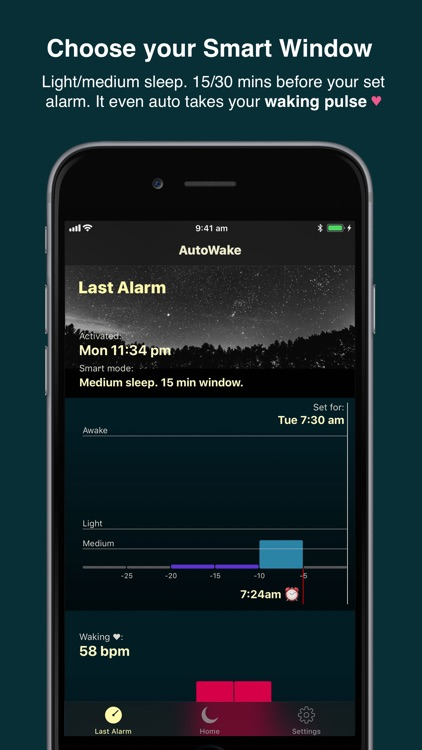 AutoWake. Smart Sleep Alarm screenshot-3