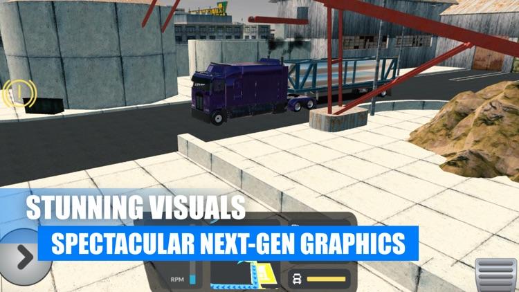 Truck Simulator USA American screenshot-5