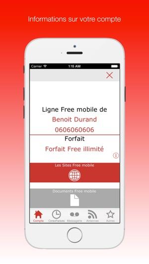 Mon Compte Free Mobile Dans L App Store