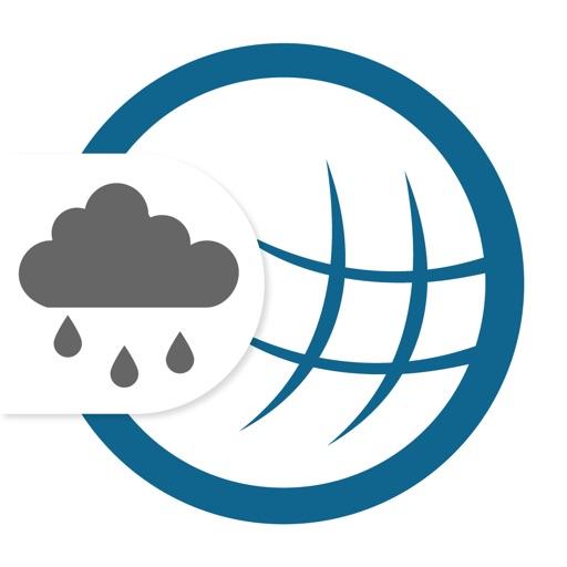 RegenRadar mit Wetterwarnungen