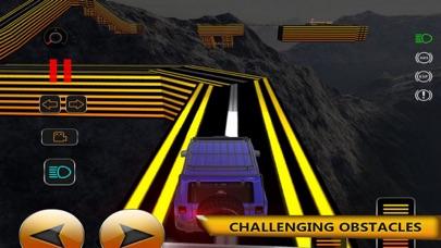 High Mountain Car Track Drivin screenshot 1