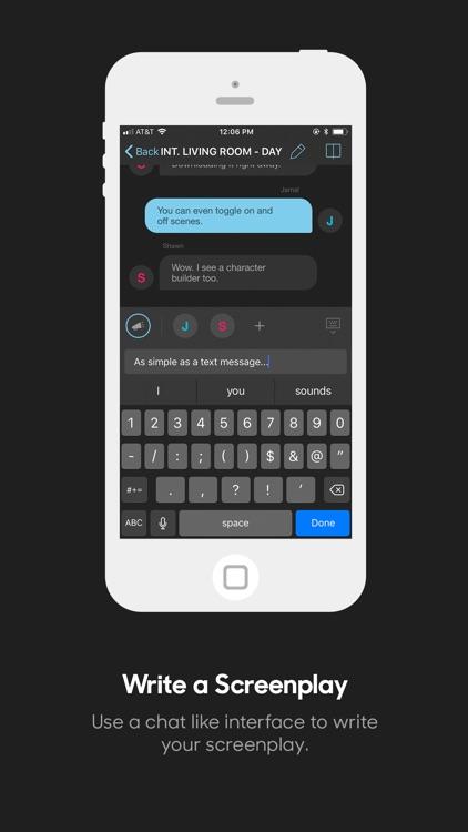 Dialogue : Screenplay Writer screenshot-0