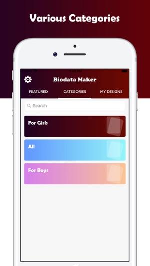 Matrimonial Biodata Maker on the App Store