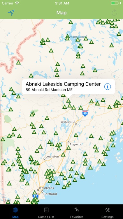 Maine – Camping & RV spots screenshot-0
