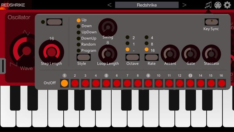 Redshrike - AUv3 Plugin Synth screenshot-5