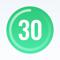 App Icon for 30 Day Fitness App in Denmark App Store