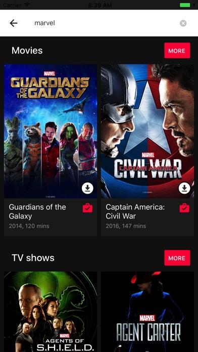 Google Playムービー&TVのスクリーンショット4