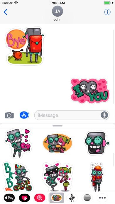 Robot Love Pack screenshot 1