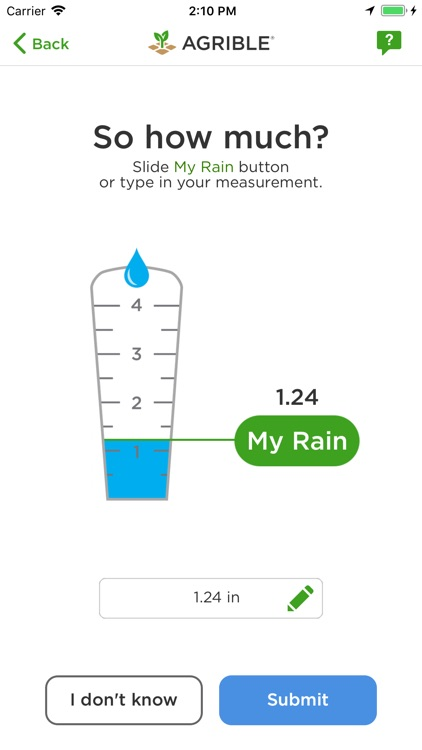 Pocket Rain Gauge™