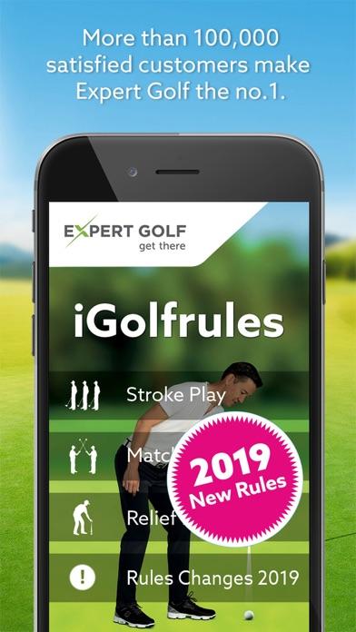 Screenshot #1 pour Expert Golf – iGolfrules