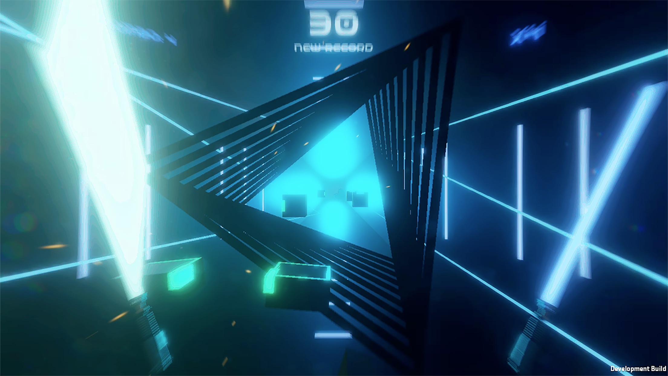 RHYTHM BEAT LIGHTSABER Screenshot