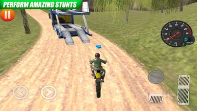 Fast Moto Up Hill Lv Screenshot on iOS