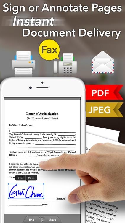 Faster Scan + - PDF Scanner screenshot-3