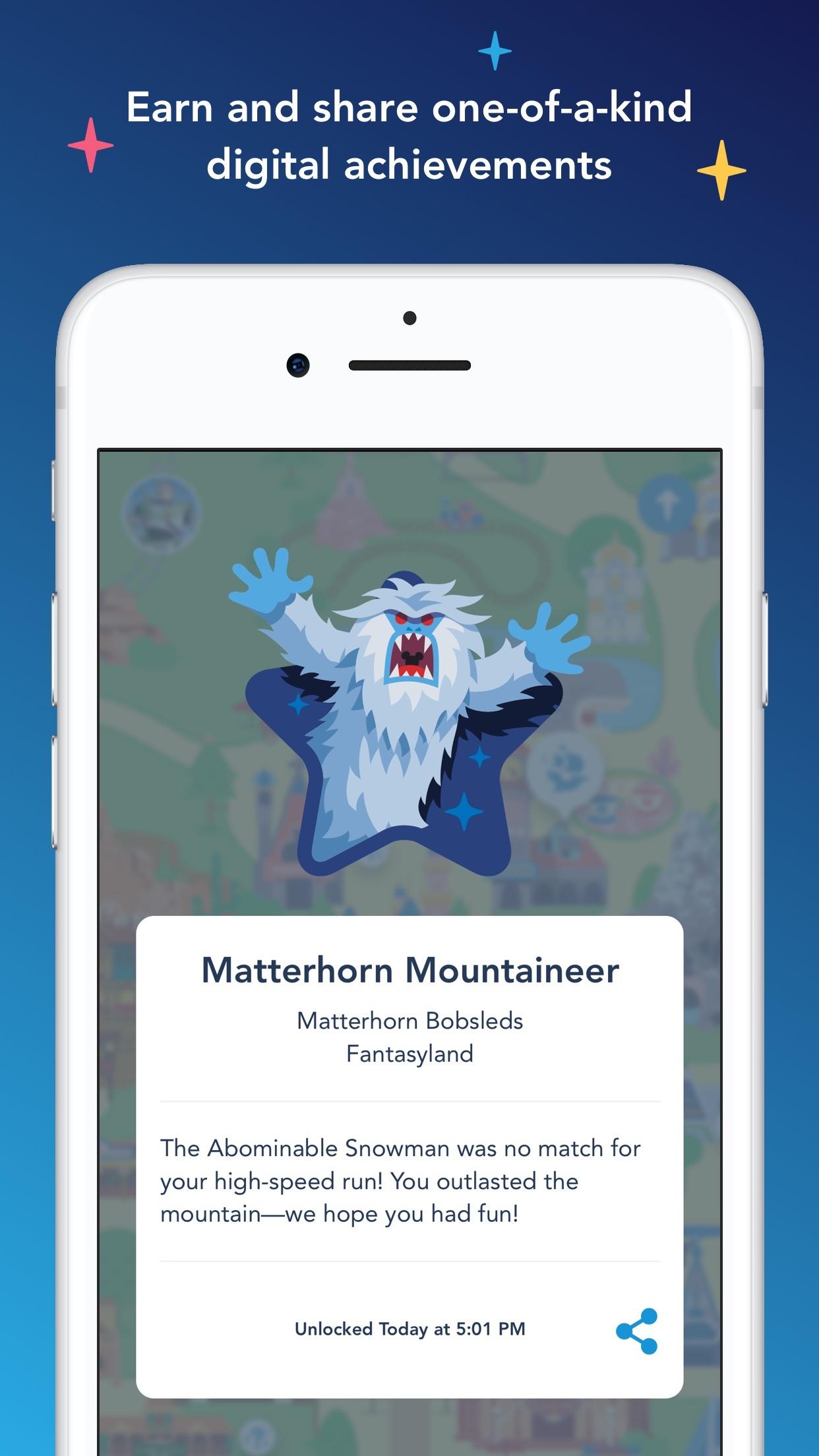 Screenshot do app Play Disney Parks