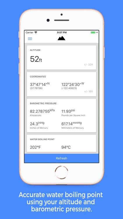myAltitude - GPS Altimeter