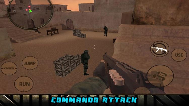 Modern SWAT: Terrorist-Gun Att