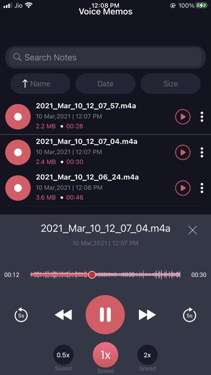 Voice Recorder : Audio Studio screenshot-6