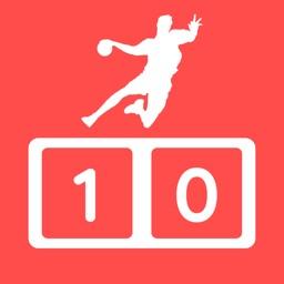 Simple Handball Scoreboard