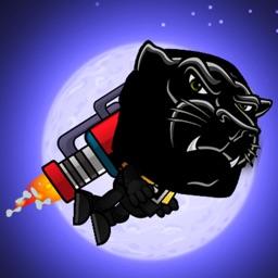 Black Panther Jet Flight