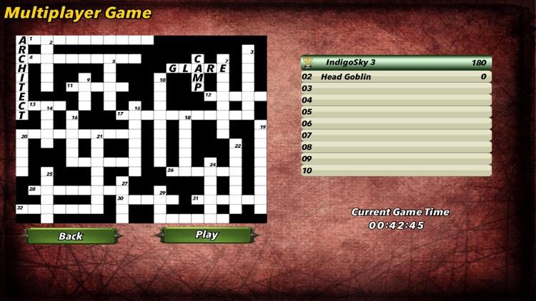 Multiplayer Crossword Puzzle screenshot-5